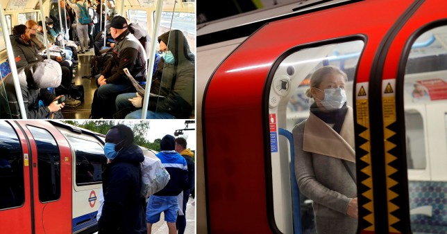 Face masks on public transport will increase confidence to fly